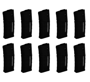 Magpul M3 7.62 25 Round Windowed Magazine (Ten Pack)
